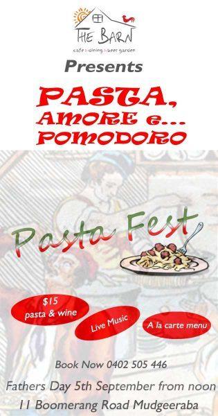 Pasta Festival at The Barn